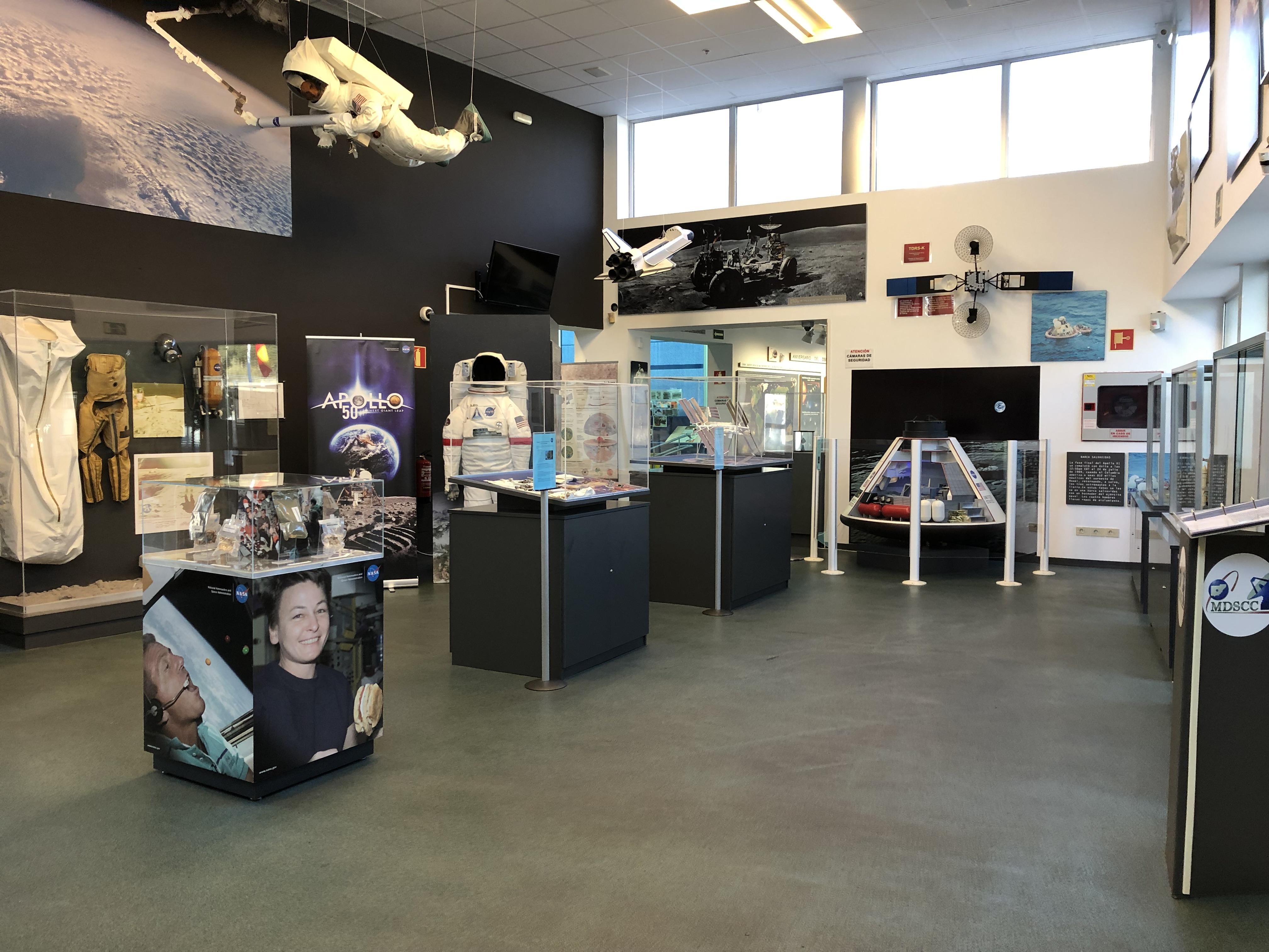 Centro de Entrenamiento y Visitantes de la NASA de Robledo de Chavelas