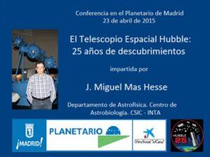 El telescopio Espacial Hubble: 25 años de descubrimientos