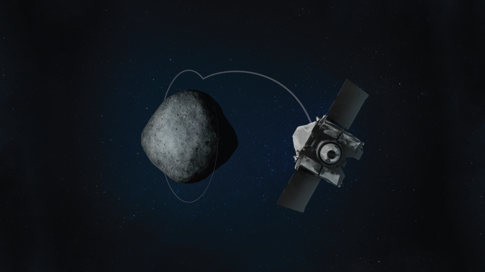 NASA's OSIRIS-REx mission…