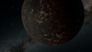 Rocky exoplanets surface