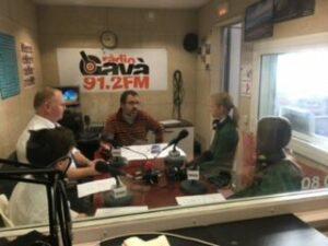 Entrevista, en inglés, para Radio Gavà