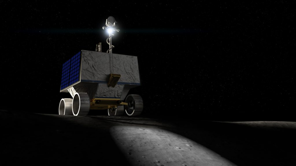 La NASA presenta a VIPER, el nuevo rover para buscar agua en la Luna.