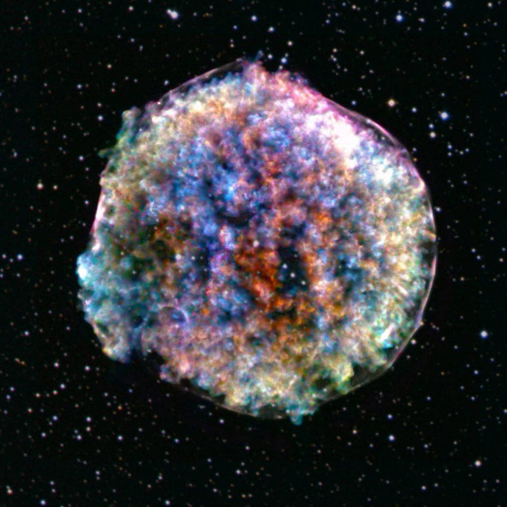 La supernova de Tycho: la muerte de una estrella.