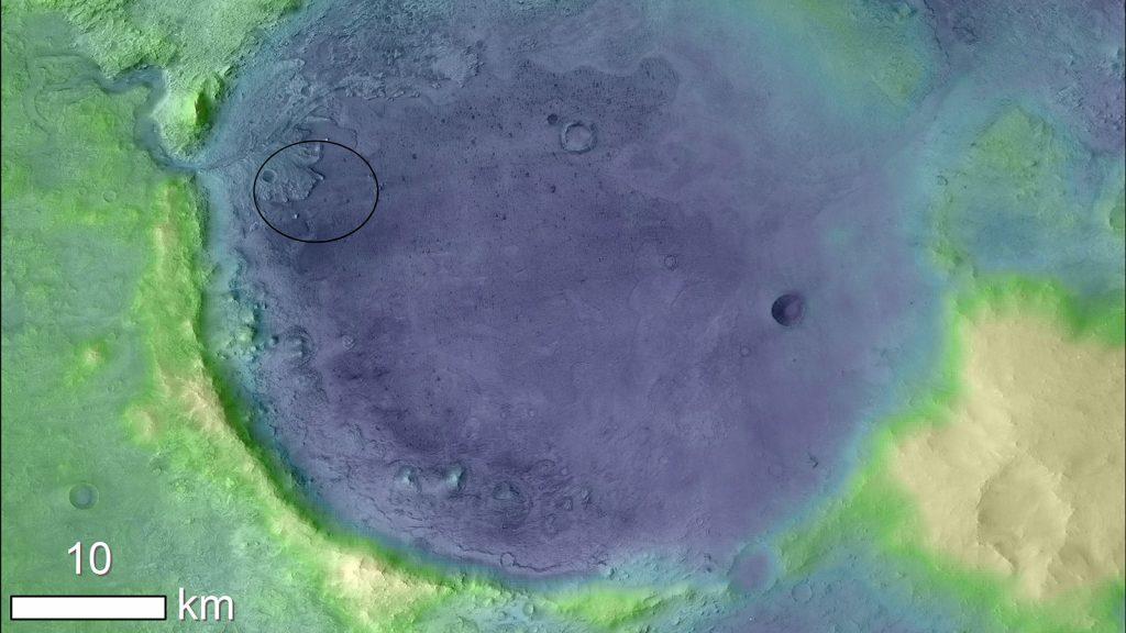Mars 2020 de la NASA buscará fósiles microscópicos.