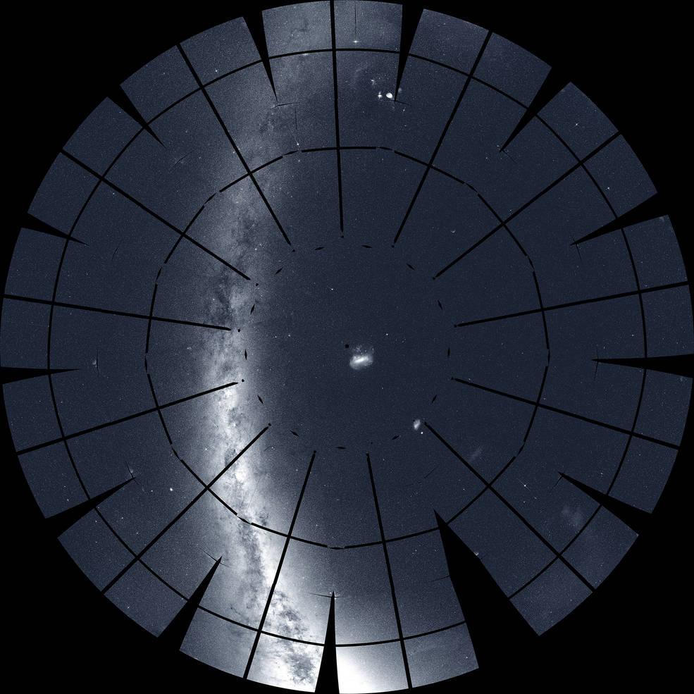 TESS nos brinda un espectacular panorama del cielo del sur.