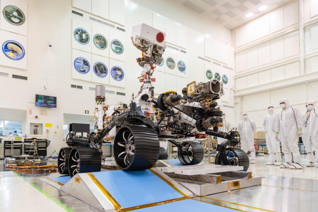El Mars 2020 Rover de la NASA completa su primer viaje.