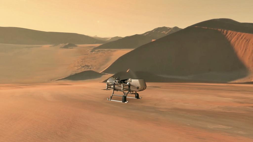 Observando a Titán en busca de signos de vida.