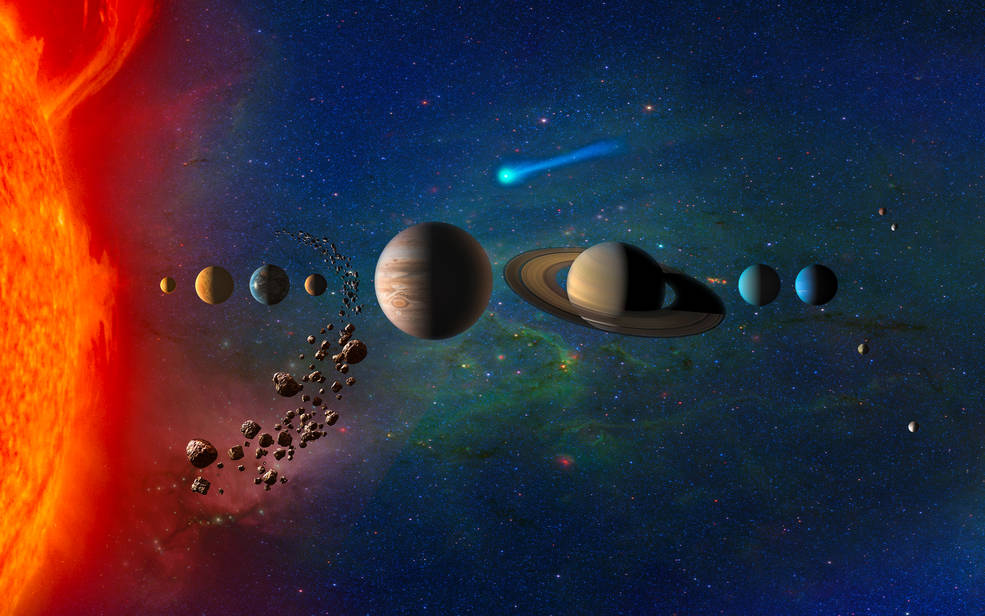 La NASA selecciona cuatro posibles misiones para estudiar los secretos del Sistema Solar.