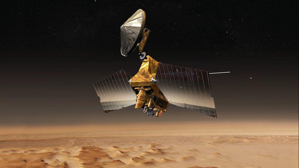 El Mars Reconnaissance Orbiter se somete a una actualización de memoria.