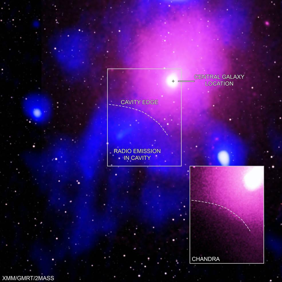 Detectada explosión récord de agujero negro.