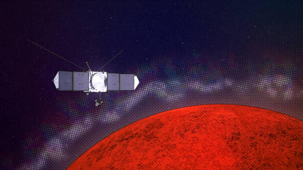MAVEN de la NASA explora Marte para comprender la interferencia de radio en la Tierra.
