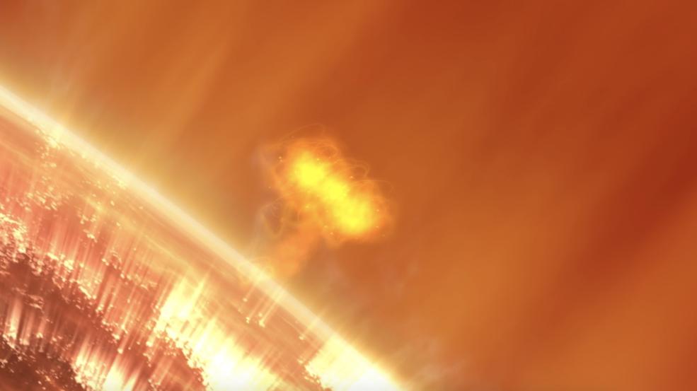 La NASA selecciona la misión para estudiar las causas de las grandes tormentas de partículas solares.