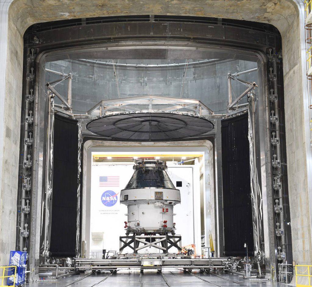 Completada la prueba de entorno de la nave espacial Artemis I.