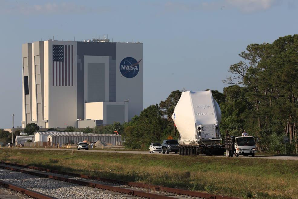 Bienvenido a casa, Orion: nave espacial lista para los preparativos finales de lanzamiento de Artemis I.
