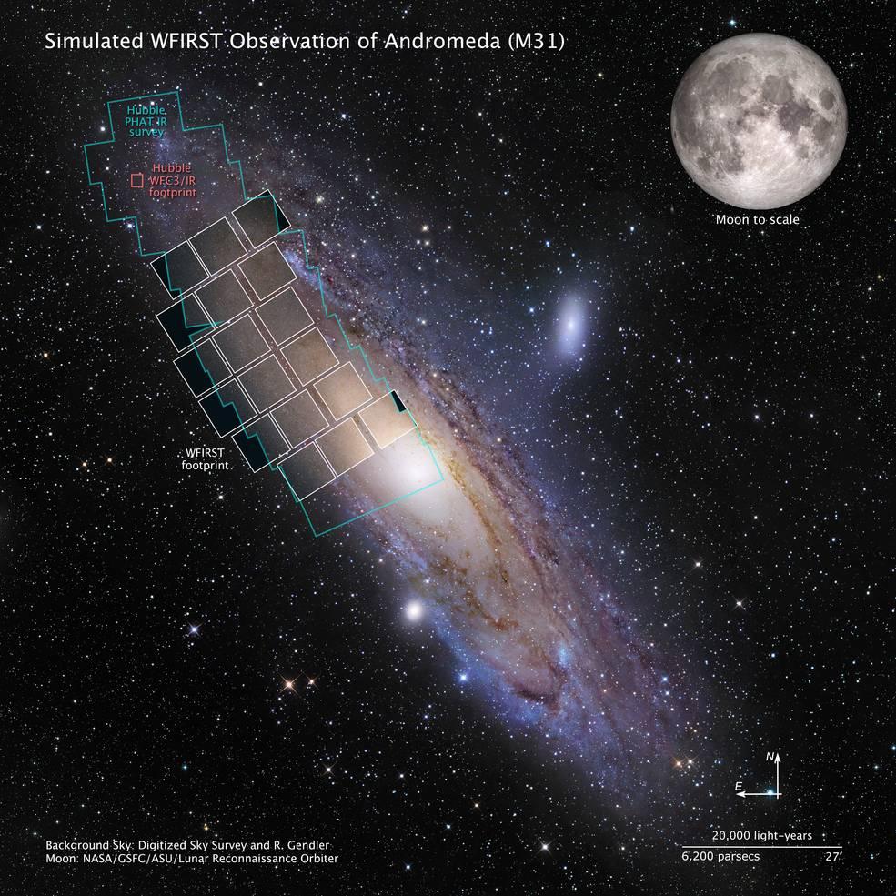 La NASA aprueba el desarrollo de una misión de estudio del Universo y búsqueda de planetas.