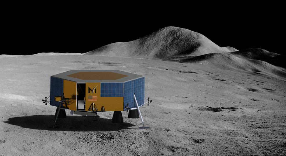 La NASA otorga un contrato para llevar equipos científicos y tecnológicos a la Luna, antes de las misiones humanas.
