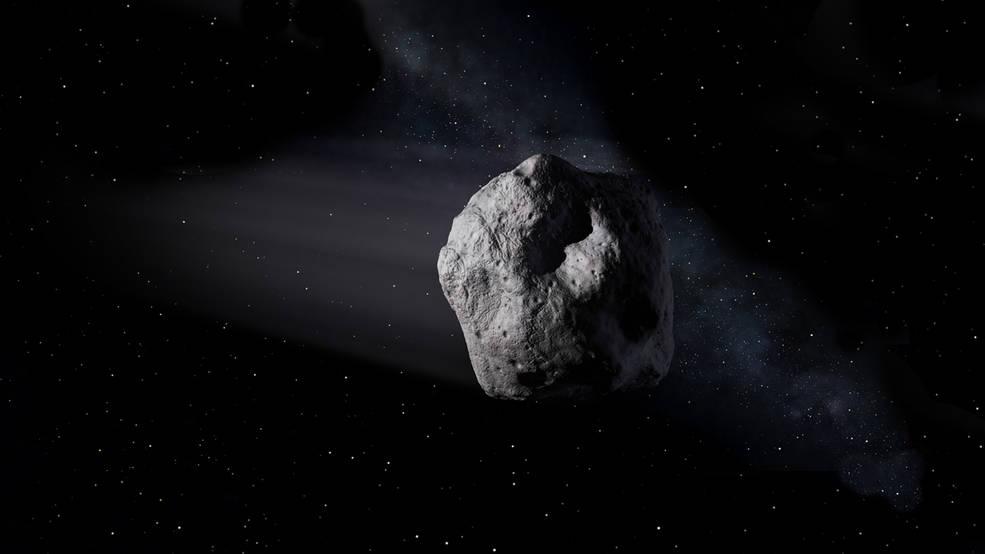 El asteroide 1998 OR2 volará con seguridad más allá de la Tierra esta semana.