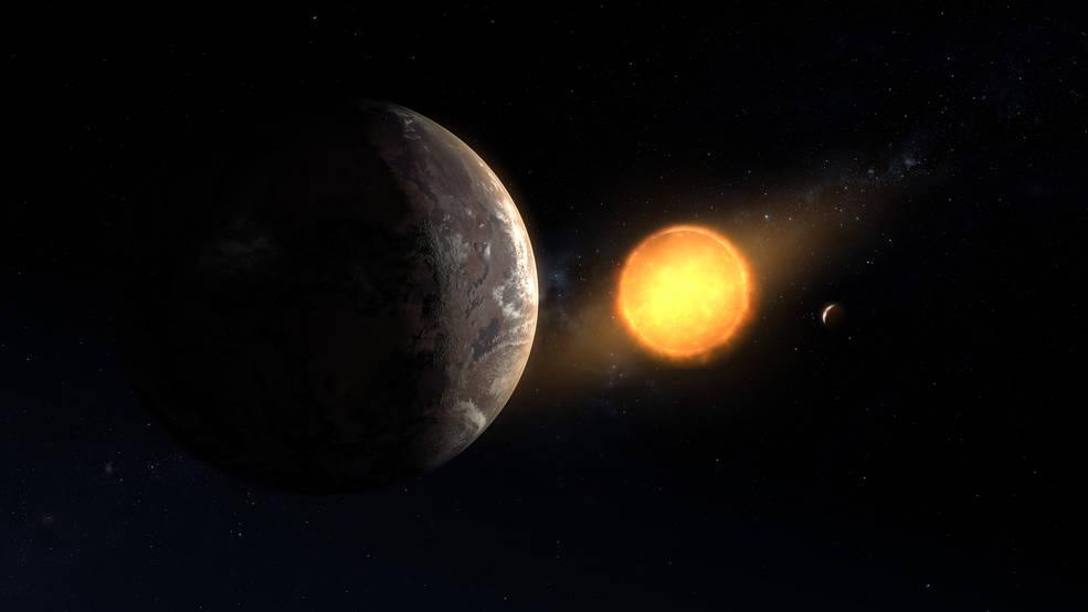 Encontrado, oculto entre los primeros datos de Kepler de la NASA, planeta del tamaño de la Tierra en la zona de habitabilidad.