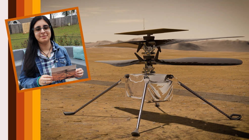Estudiante de secundaria de Alabama nombra al Mars Helicopter de la NASA.