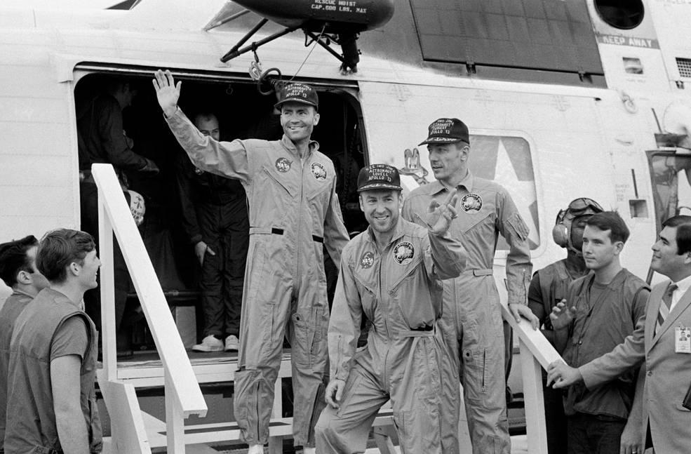 """La NASA conmemora el 50 aniversario del Apollo 13, """"Un fracaso exitoso""""."""