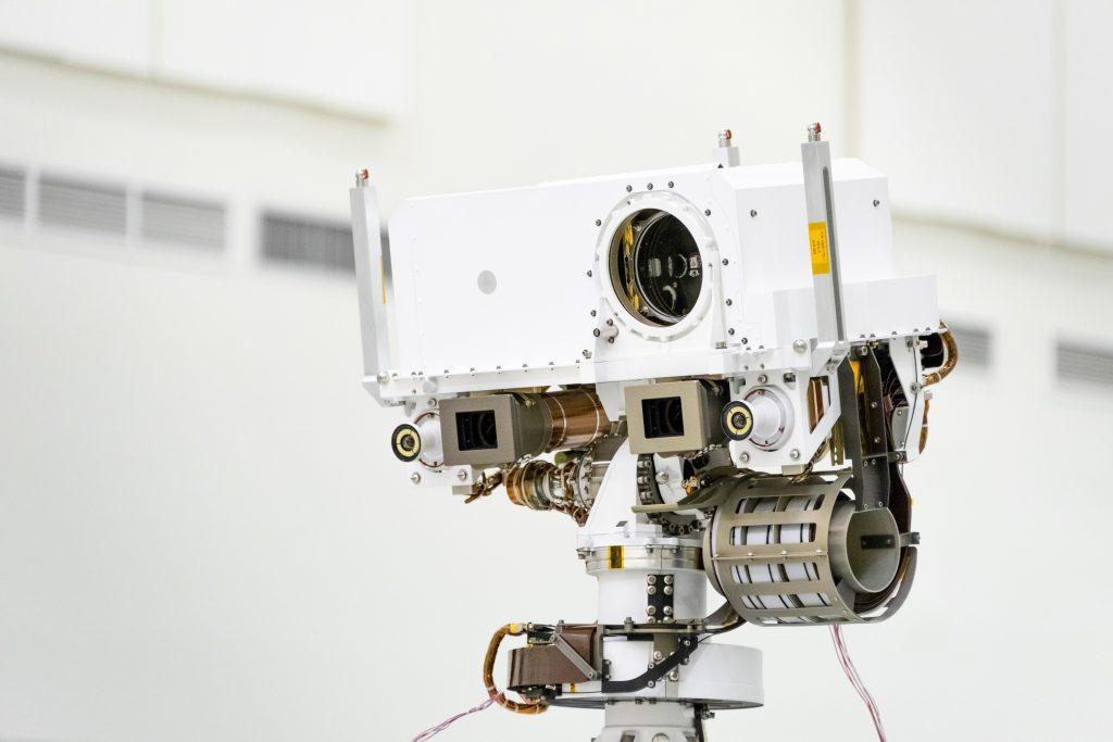 El rover Perseverance de la NASA mirará a Marte a través de estos 'ojos'