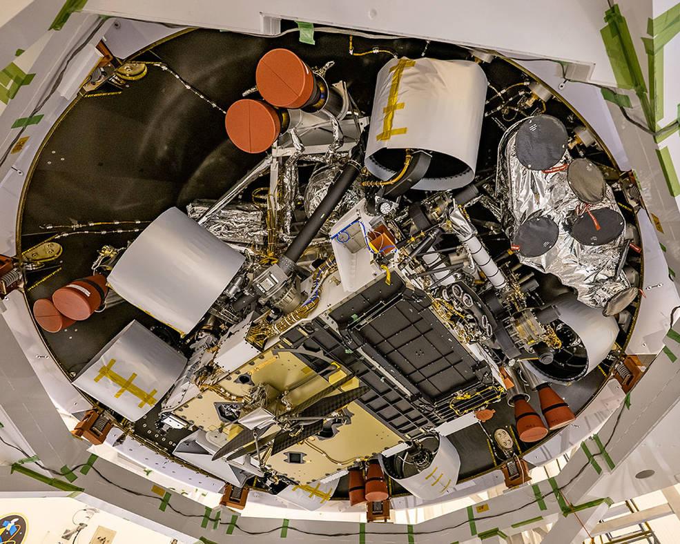 La misión Rover de Perseverance de la NASA se pone en forma para el lanzamiento.