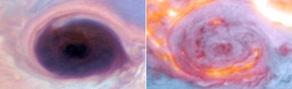 Telescopios y naves espaciales unen fuerzas para sondear profundamente en la atmósfera de Júpiter.