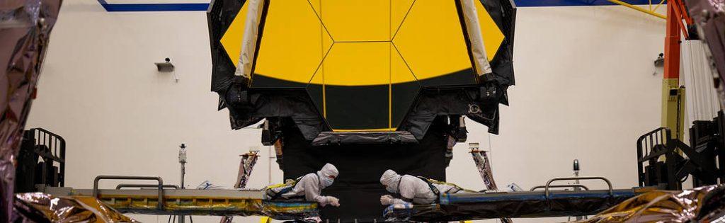 La prueba de extensión de la torre fue un éxito para el telescopio espacial James Webb de la NASA.
