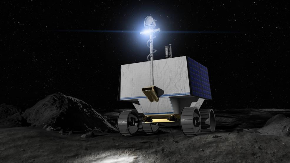 La NASA selecciona a Astrobiotic para enviar a la luna un rover buscador de agua.