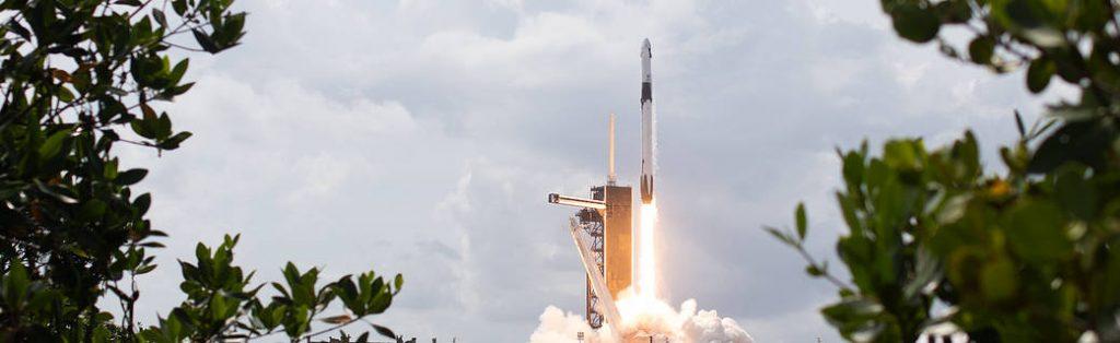 Apoyo al primer lanzamiento comercial de astronautas de la NASA desde E.E.U.U.