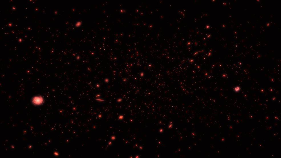 El Hubble hace hallazgos sorprendentes del Universo Temprano.