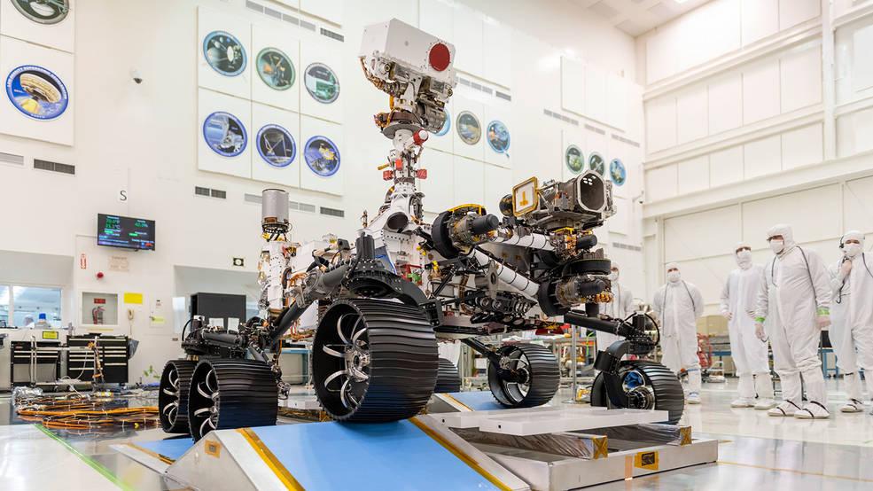 El lanzamiento se acerca para Perseverance, el próximo Mars Rover de la NASA.