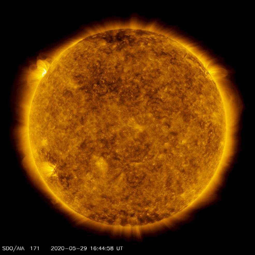 Vista en un lapso de tiempo, 10 años del Sol desde el SDO de la NASA.