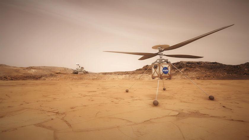 6 cosas que debes saber sobre Ingenuity NASA Mars Helicopter.