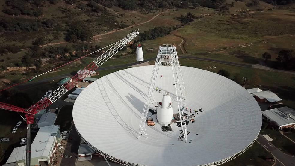 La Estación de Espacio Profundo de la NASA en Australia está recibiendo una actualización.