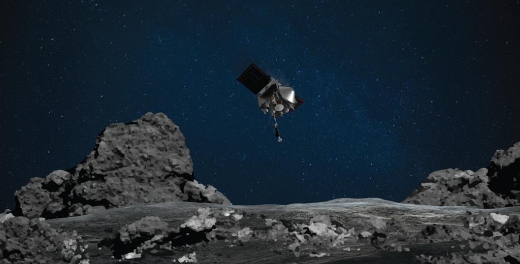 Donde las rocas cobran vida: OSIRIS-REx de la NASA observa un asteroide en acción.