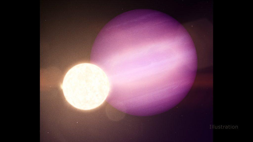 Las misiones de la NASA observan el primer posible planeta orbitando un escoldo estelar.