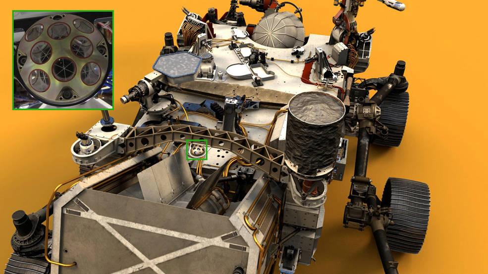 El nuevo Mars Rover de la NASA está listo para los láseres espaciales.
