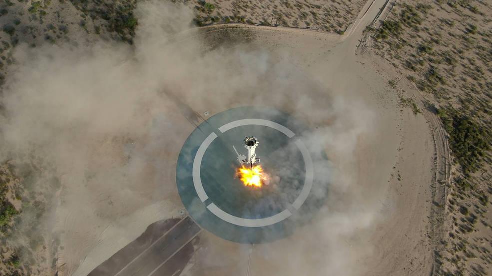 La tecnología de la NASA permite un aterrizaje de precisión sin piloto.