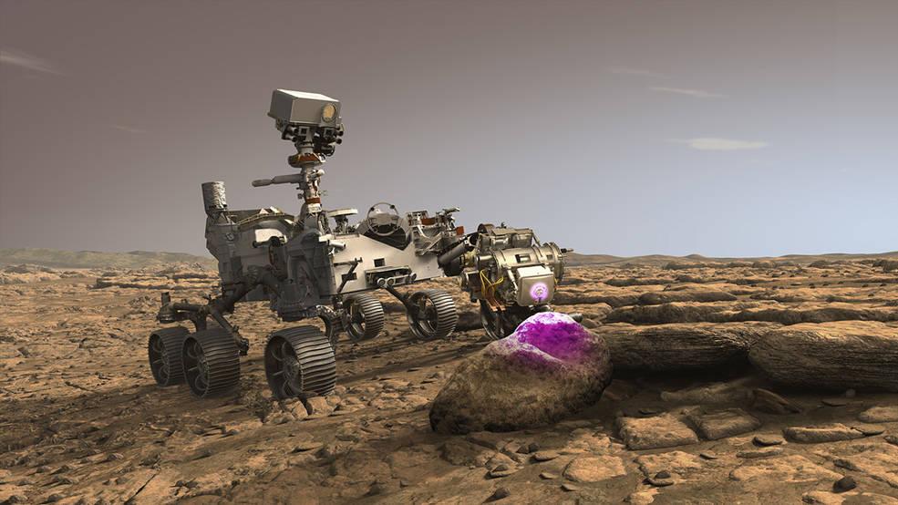 El nuevo Mars Rover de la NASA utilizará rayos X para estudiar fósiles.