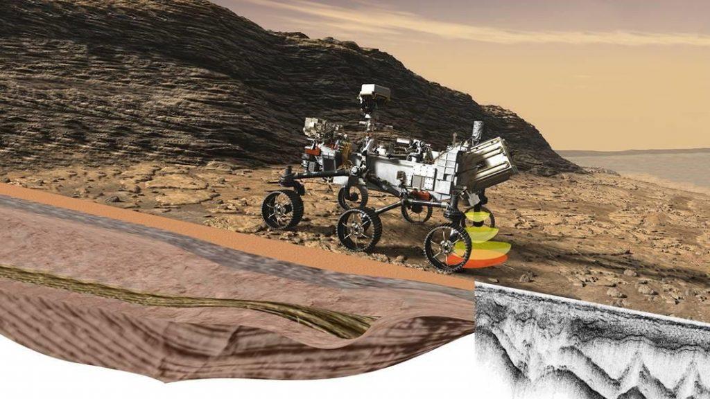 El Rover Perseverance de la NASA estudiará el subsuelo de Marte.