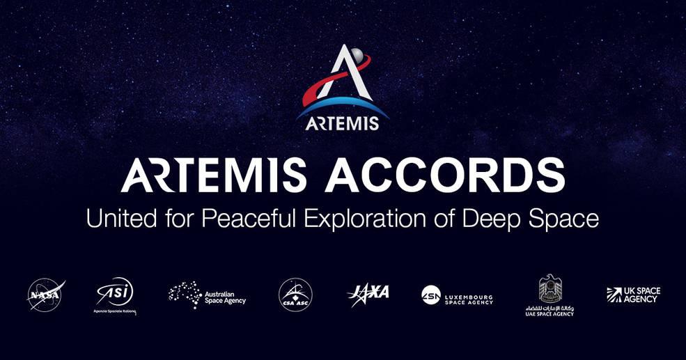 La NASA y los socios internacionales avanzan en la cooperación con las primeras firmas de los acuerdos de Artemis.