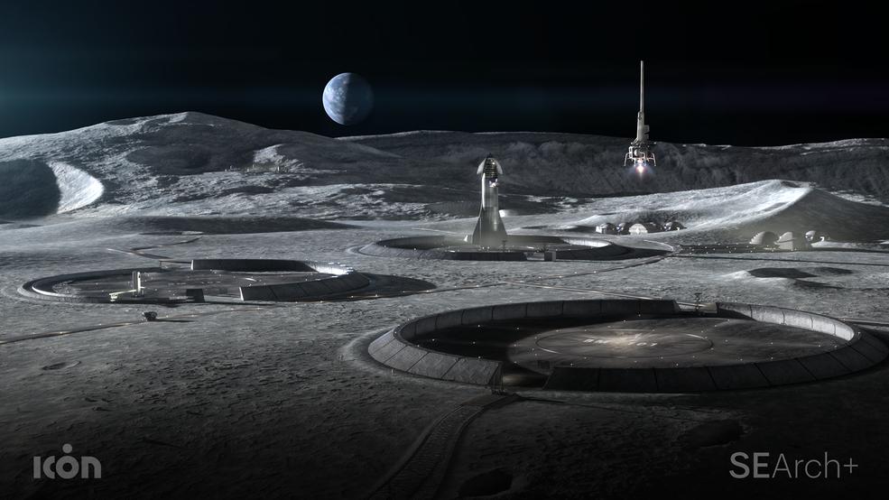 La NASA busca avanzar en los sistemas de construcción de impresión 3D para la Luna y Marte.