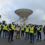 La Red De Espacio Profundo de NASA, da la bienvenida a una nueva antena en el Complejo de Comunicaciones de Madrid.