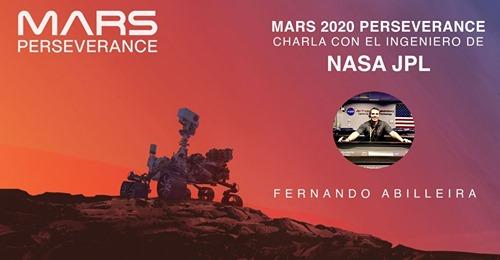 Conferencia Online: Mars 2020 Perseverance