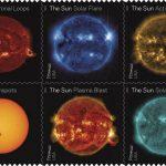 Sellos de ciencia solar destacan una década de observación del Sol desde el espacio.