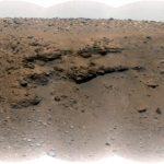 """Mi imagen marciana favorita: """"Delta Scarp"""" del cráter Jezero."""