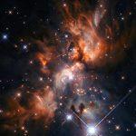 El telescopio espacial Hubble vislumbra un vivero estelar